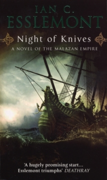 Night of Knives : A Novel of the Malazan Empire, Paperback Book