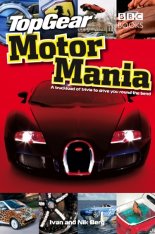 Top Gear: Motor Mania, Hardback Book