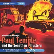 Paul Temple and the Jonathan Mystery, CD-Audio Book