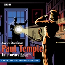Paul Temple Intervenes, CD-Audio Book