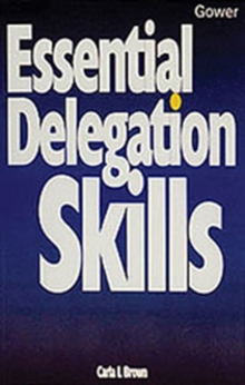Essential Delegation Skills, Paperback Book