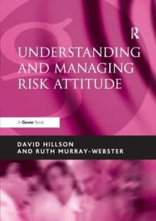 Understanding and Managing Risk Attitude, Paperback Book