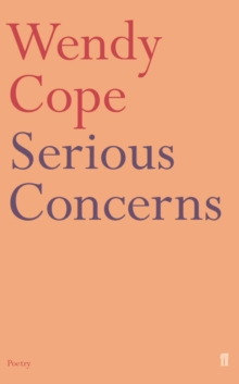 Serious Concerns, Paperback Book