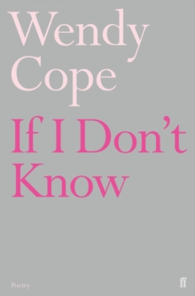 If I Don't Know, Paperback Book