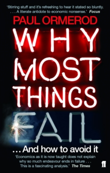 Why Most Things Fail, Paperback Book