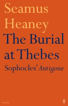 The Burial at Thebes, Paperback Book