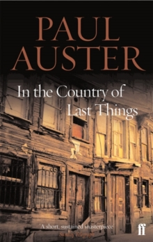 In the Country of Last Things, Paperback Book