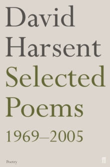 Selected Poems David Harsent, Paperback Book