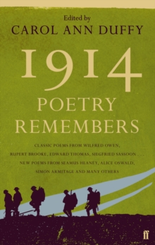 1914: Poetry Remembers, Paperback Book