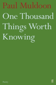 One Thousand Things Worth Knowing, Paperback Book