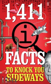 1,411 QI Facts to Knock You Sideways, Paperback Book