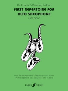 First Repertoire : (Alto Saxophone and Piano), Paperback Book