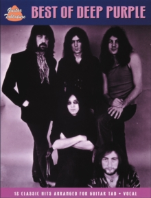 Deep Purple : The Best Of (Guitar Tab), Paperback Book