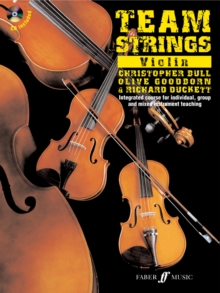 Team Strings - Violin, Mixed media product Book