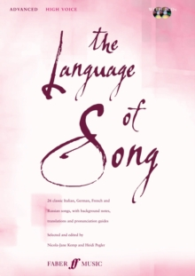 The Language of Song : Advanced (high Voice), Mixed media product Book