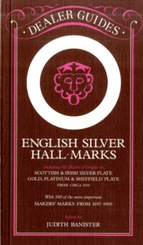 English Silver Hallmarks, Paperback Book