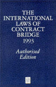 International Laws of Contract Bridge 1993, Paperback Book