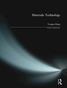 Materials Technology, Paperback Book