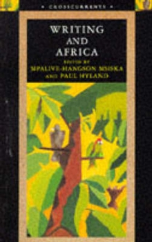 Writing and Africa, Paperback Book