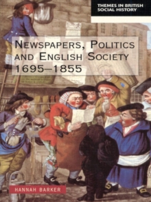 Newspapers and English Society 1695-1855, Paperback Book