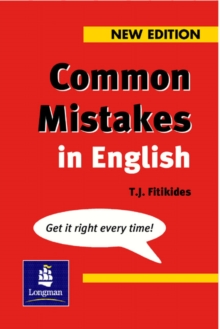 Common Mistakes in English : With Exercises, Paperback Book