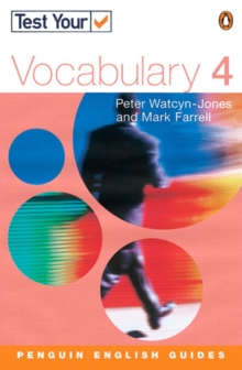 Test Your Vocabulary : 4, Paperback Book