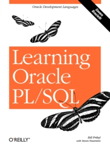 Learning Oracle PL/SQL, Paperback Book
