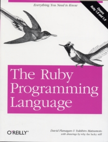 The Ruby Programming Language, Paperback Book