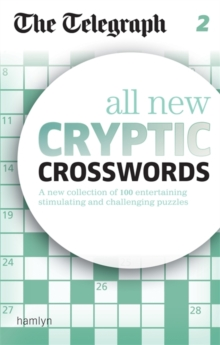 The Telegraph All New Cryptic Crosswords 2, Paperback Book
