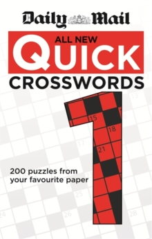 Daily Mail: All New Quick Crosswords 1, Paperback Book
