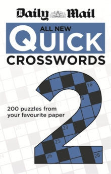 The Daily Mail: All New Quick Crosswords 2, Paperback Book