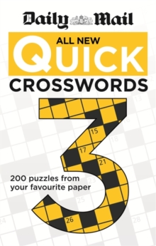 Daily Mail: All New Quick Crosswords, Paperback Book