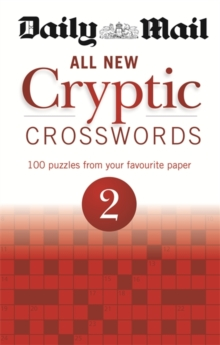 Daily Mail: All New Cryptic Crosswords 2, Paperback Book