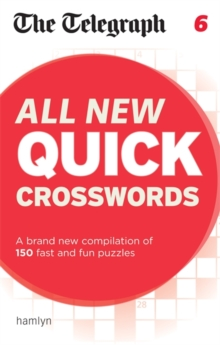 Telegraph All New Quick Crosswords 6, Paperback Book