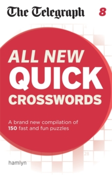The Telegraph: All New Quick Crosswords 8, Paperback Book