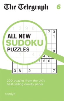 The Telegraph All New Sudoku Puzzles 6, Paperback Book