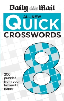 Daily Mail All New Quick Crosswords 8, Paperback Book