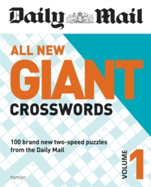 Daily Mail All New Giant Crosswords 1, Paperback Book