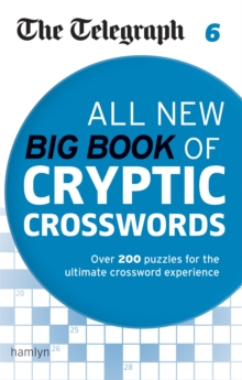 The Telegraph: All New Big Book of Cryptic Crosswords 6, Paperback Book