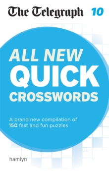 The Telegraph: All New Quick Crosswords 10, Paperback Book