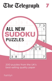The Telegraph All New Sudoku Puzzles 7, Paperback Book