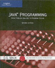 Java Programming : From Problem Analysis to Program Design, Mixed media product Book