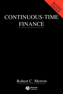 Continuous-time Finance, Paperback Book