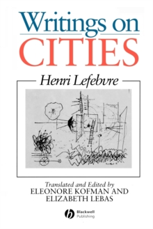 Writings on Cities, Paperback Book