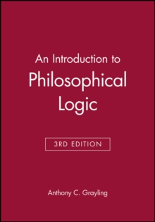 An Introduction to Philosophical Logic, Paperback Book