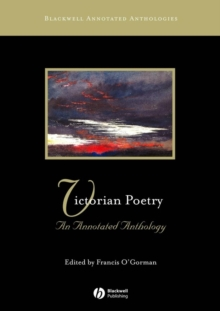 Victorian Poetry - an Annotated Anthology, Paperback Book