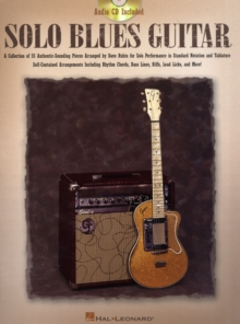Solo Blues Guitar, Paperback Book