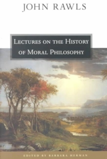 Lectures on the History of Moral Philosophy, Paperback Book