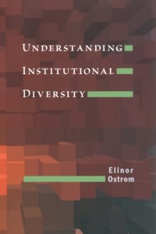 Understanding Institutional Diversity, Paperback Book