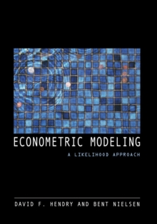 Econometric Modeling : A Likelihood Approach, Paperback Book